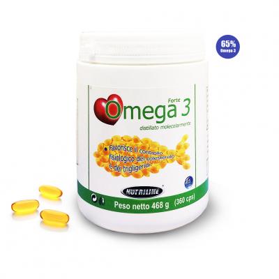 OMEGA 3 FORTE NUTRILINE (360cps)